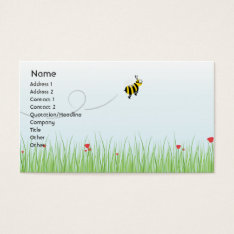 Bee - Business Business Card at Zazzle