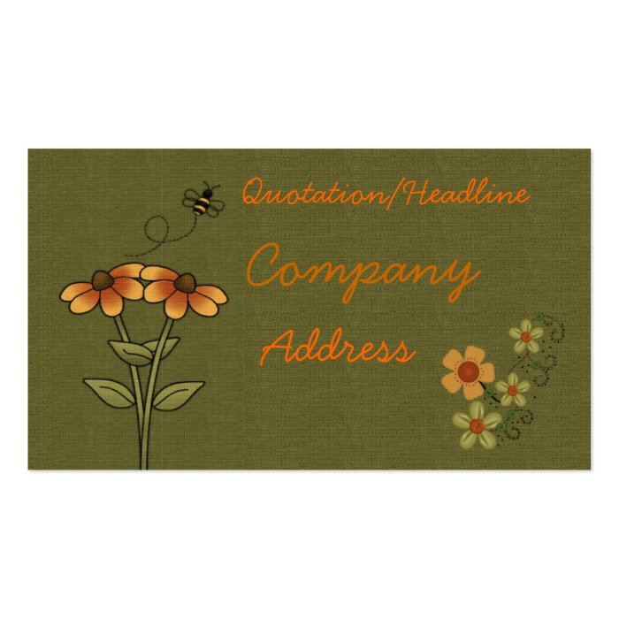 Bee business card zazzle for Bee business cards