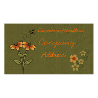 bee business card
