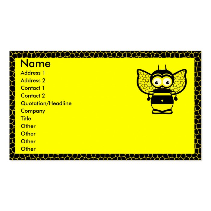 Bee Business Cards