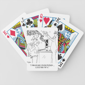 Bee Cartoon 6890 Bicycle Playing Cards