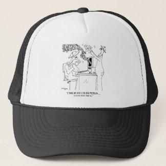 Bee Cartoon 6890 Trucker Hat