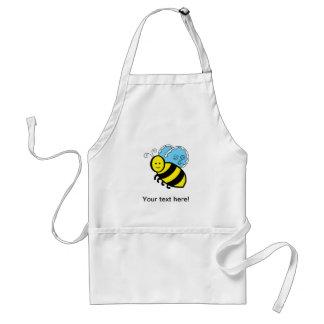 Bee cartoon adult apron