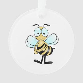 Bee cartoon ornament