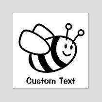 Bee Cartoon Self-inking Stamp