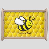 Bee Cartoon Serving Tray
