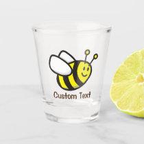 Bee Cartoon Shot Glass