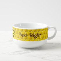Bee Cartoon Soup Mug