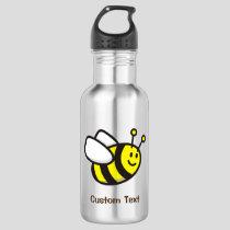 Bee Cartoon Stainless Steel Water Bottle