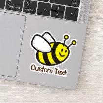 Bee Cartoon Sticker