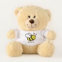 Bee Cartoon Teddy Bear