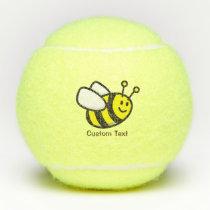 Bee Cartoon Tennis Balls