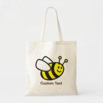 Bee Cartoon Tote Bag