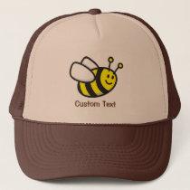 Bee cartoon trucker hat