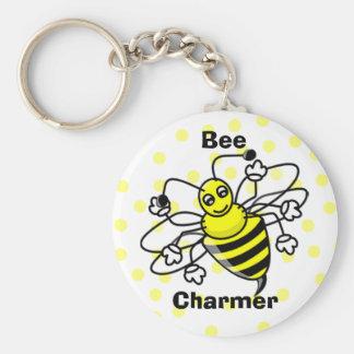 Bee Charmer Keychain