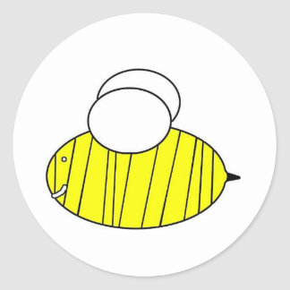 Bee! Classic Round Sticker