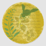 bee classic round sticker