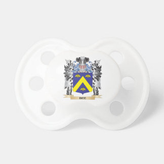 Bee Coat of Arms - Family Crest BooginHead Pacifier