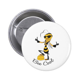 Bee Cool 2 Inch Round Button
