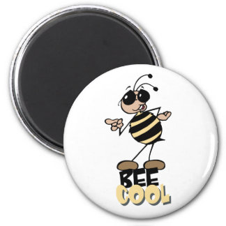 Bee Cool 2 Inch Round Magnet