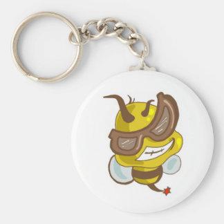 Bee cool keychain