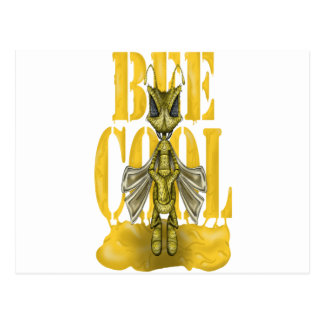 Bee Cool Postcard