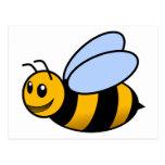 Bee - cute post card
