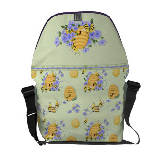 Bee Dance Courier Bag