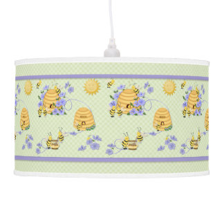 Bee Dance Party 2 Hanging Lamp