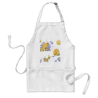 Bee Dance Party Adult Apron