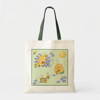 Bee Dance Party Tote Bag