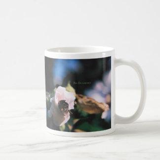 BEE DETERMINED CLASSIC WHITE COFFEE MUG