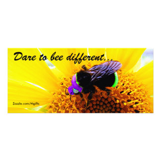 Bee Different Rack Card