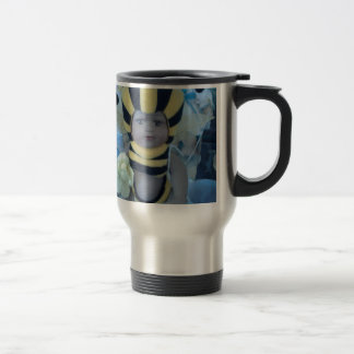 Bee Doll Products 15 Oz Stainless Steel Travel Mug