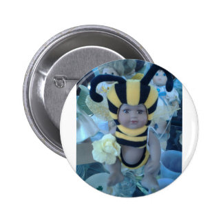 Bee Doll Products Button