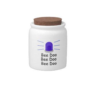 Bee Doo Bee Doo Bee Doo Candy Jar