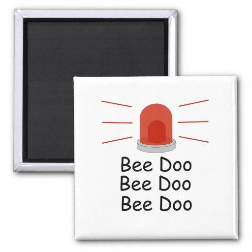 Bee Doo Bee Doo Bee Doo Refrigerator Magnets