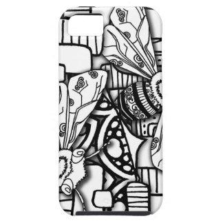 Bee Doodles iPhone SE/5/5s Case
