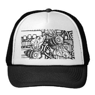 Bee Doodles Trucker Hat
