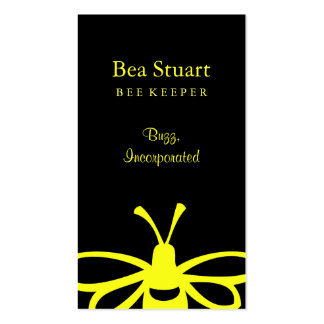 Bee Double-Sided Standard Business Cards (Pack Of 100)