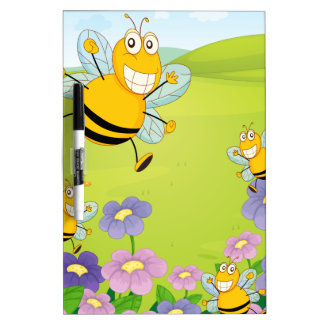 Bee Dry-Erase Whiteboard