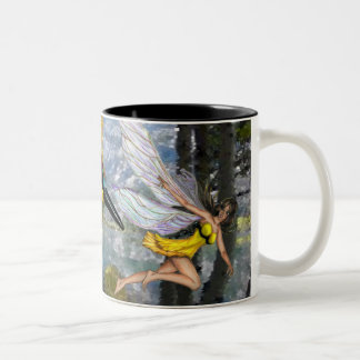 Bee eater and the Fairy mug