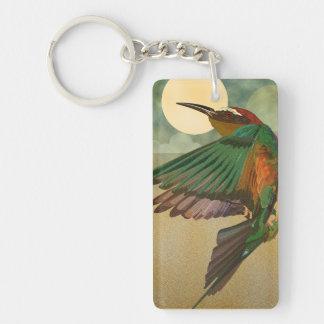 Bee Eater Bird Keychain