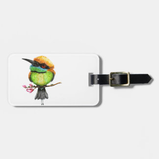 Bee Eater Luggage Tag