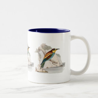 Bee Eater Two-Tone Coffee Mug