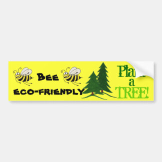 Bee Eco-friendly - Bumper Sticker