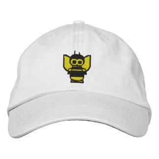 Bee Embroidered Hat
