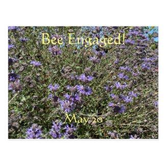 Bee Engaged: World Bee Day Postcard