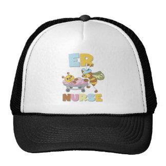 Bee ER Nurse Trucker Hat