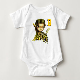 Bee Fairy Baby Bodysuit